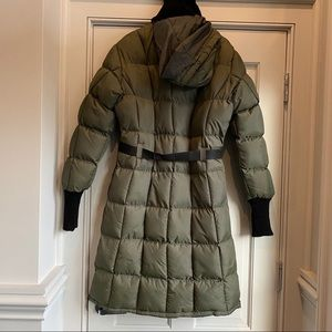 Vintage quilted Puffy Long Warmest Parka